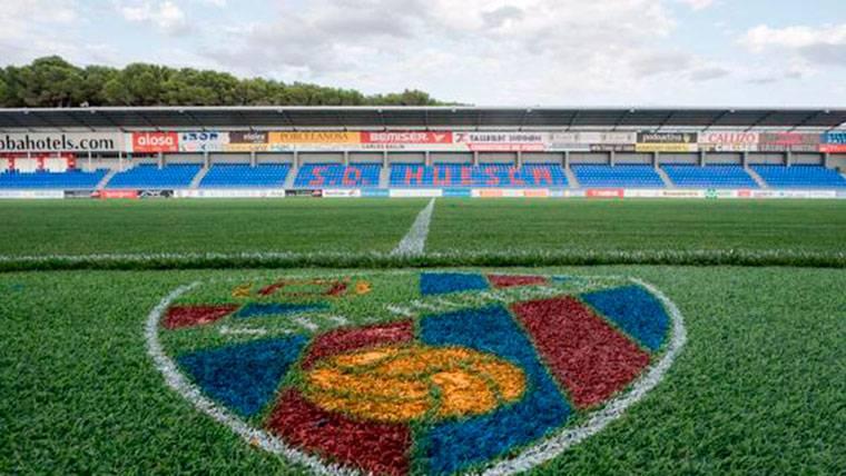 El Barcelona se estrenará en El Alcoraz el próximo curso en Liga