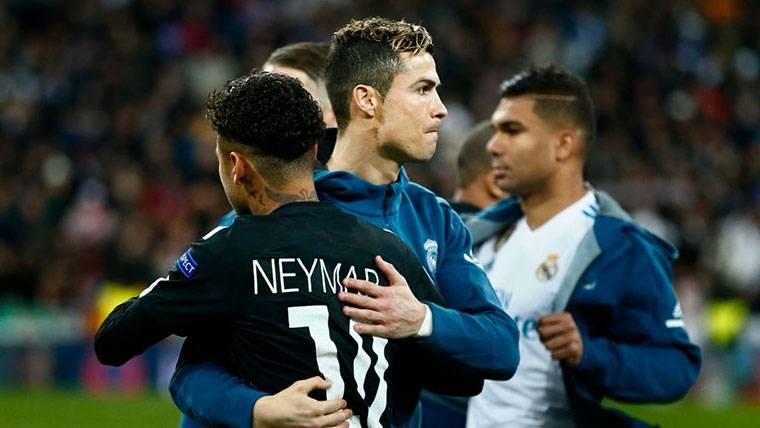 """Cristiano: """"¿Neymar? Siempre se habla y al final no viene nadie"""""""