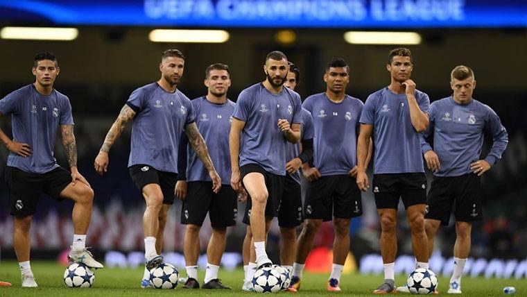 Susto para el Real Madrid 4 días antes de la final de Champions