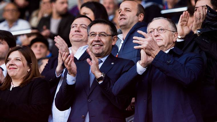 """Bartomeu: """"¿Griezmann al Barça? Hablaremos el 1 de julio"""""""