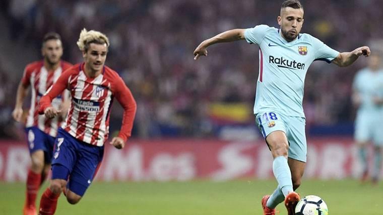 """Alba 'aprieta' por Griezmann: """"Estaría muy bien en el Barça"""""""