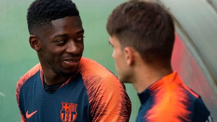 Dembélé estudia ofertas, pero quiere seguir en el FC Barcelona