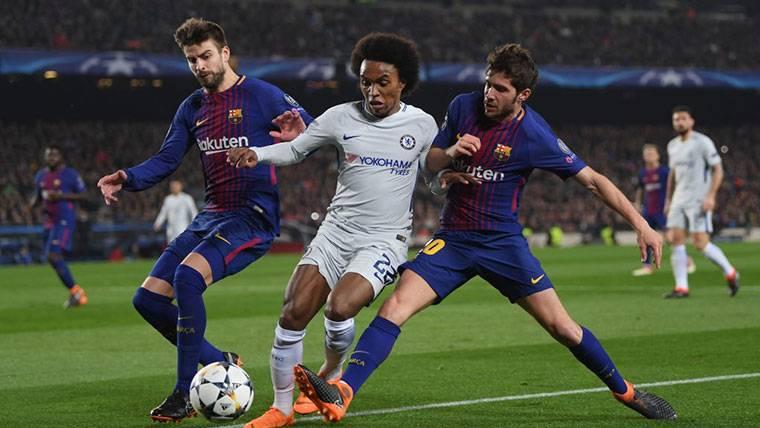 Willian, el fichaje ideal para el Barça si no llega Griezmann