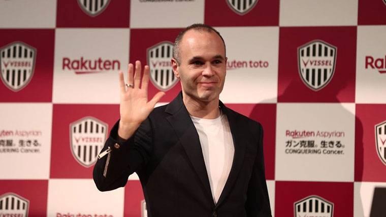 Primeras palabras de Iniesta para integrarse en el Vissel Kobe