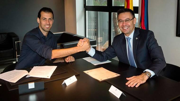 ACUERDO: El Barcelona se asegura la continuidad de Busquets