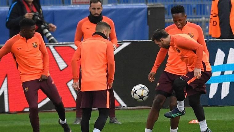 Los pesos pesados del FC Barcelona apoyan a Yerry Mina
