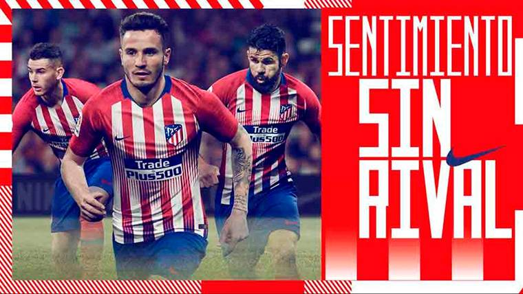 ¡Antoine Griezmann no aparece en el anuncio de la nueva camiseta del  Atlético! - FC Barcelona Noticias 3700380cd95eb