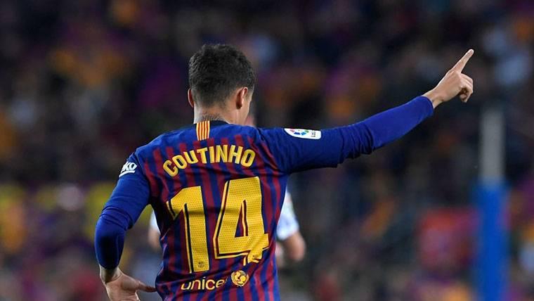 Coutinho, 'on fire': El Barça tiene a un goleador en la medular