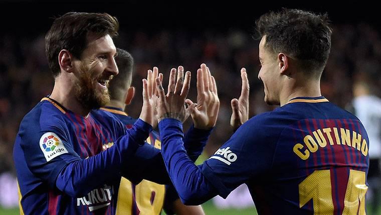 La confesión de Philippe Coutinho sobre Leo Messi