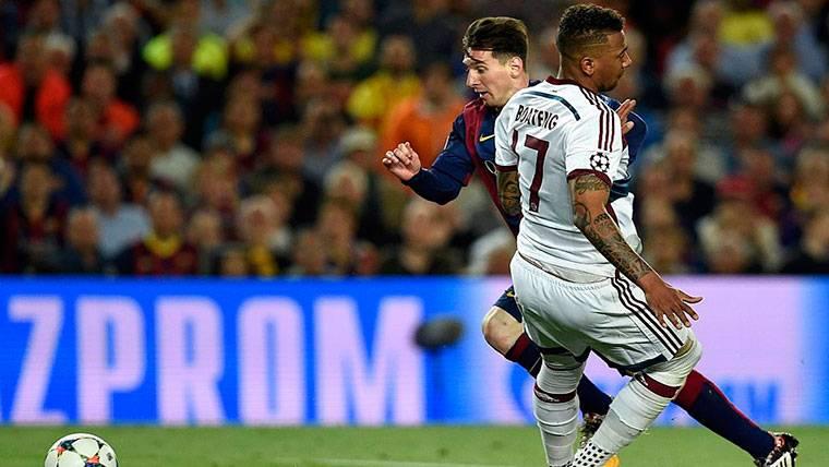 El homenaje del Bayern de Múnich a Leo Messi en su estadio