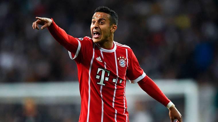 Oportunidad para el Barça: el Bayern pondría a Thiago en el mercado
