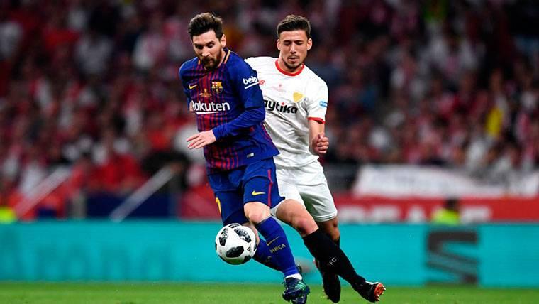 Aseguran que Lenglet está a un paso de fichar por el Barcelona
