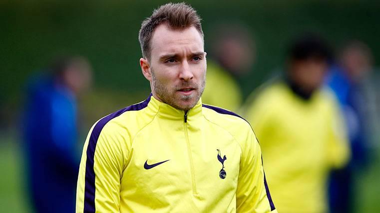 La reacción del Tottenham a los rumores sobre Christian Eriksen