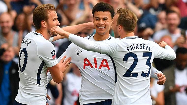 Barça y Tottenham podrían hablar del futuro de Christian Eriksen en julio