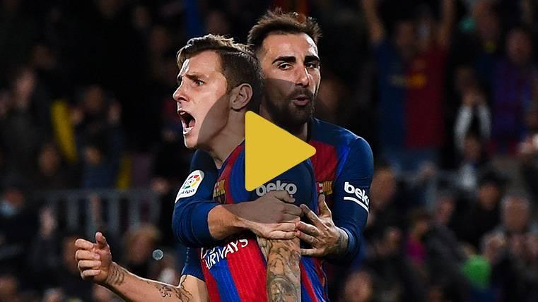 Los divertidos incidentes del entrenamiento del FC Barcelona