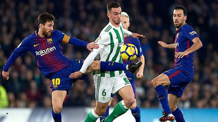 El FC Barcelona no pagaría este verano la cláusula de Fabián Ruiz