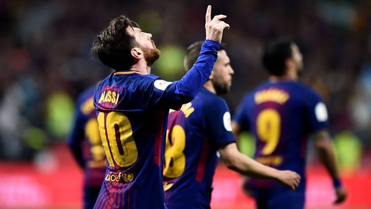 Barcelona y Madrid empatan a Champions en la 'época Messi'