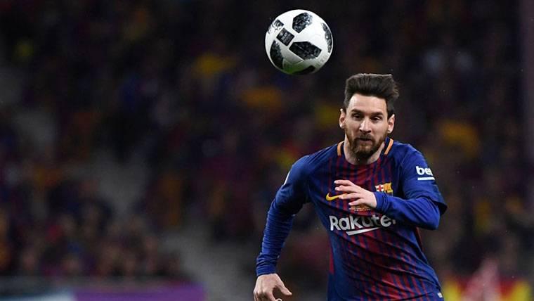 Messi, único jugador del Barça en el Equipo Ideal de la Champions