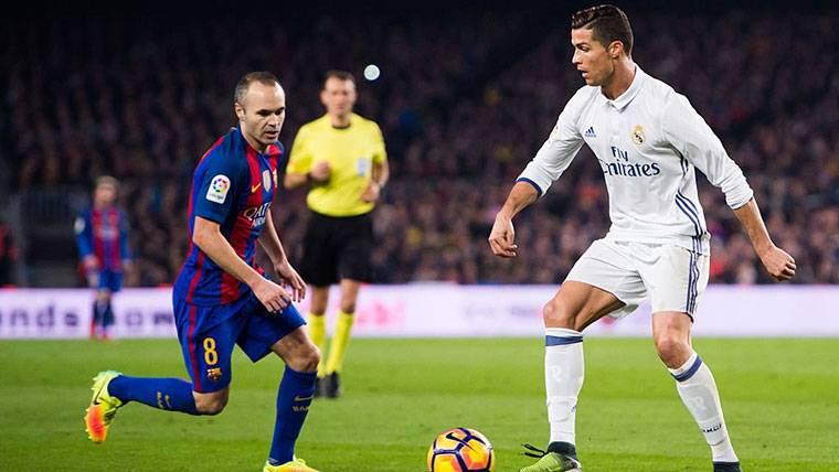 Andrés Iniesta explica por qué mandó callar a Cristiano Ronaldo