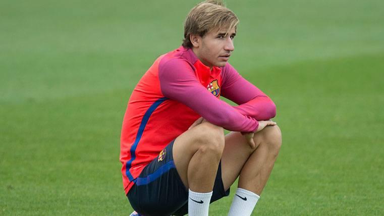 Sergi Samper, ¿el as en la manga del Barça para el centro del campo?