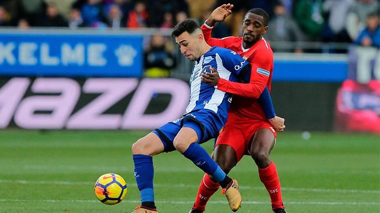 Munir quiere ayudar al Barça en el campo, pero no pasará por caja