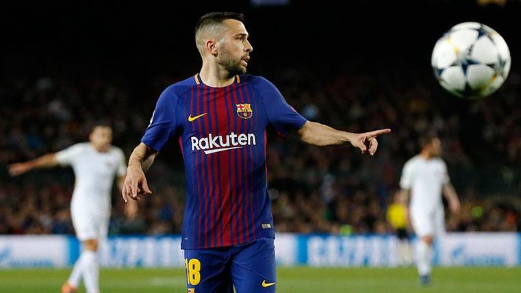 El agente de Jordi Alba da un toque de atención al Barça por su renovación