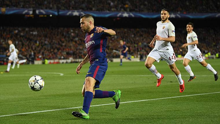 Manchester United y Chelsea acechan por si hay lío en la renovación de Jordi Alba
