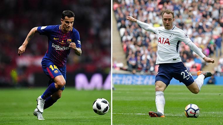 La brillante alineación que el Barça podría formar con Eriksen y Coutinho