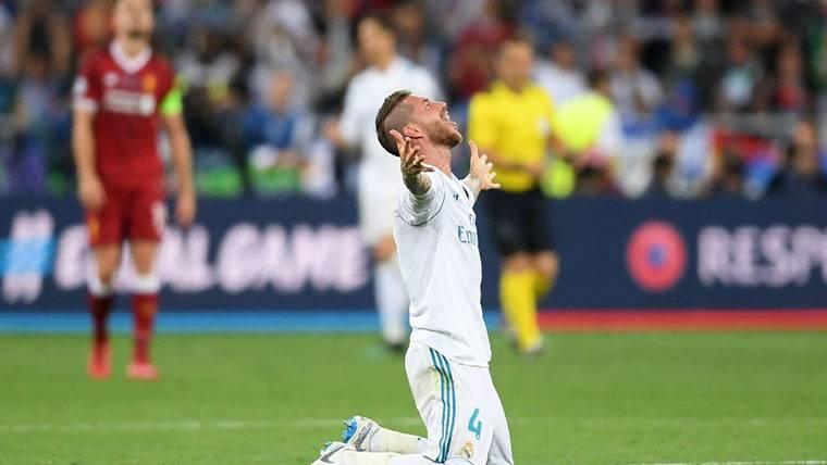 La UEFA toma una decisión sobre la acción de Sergio Ramos