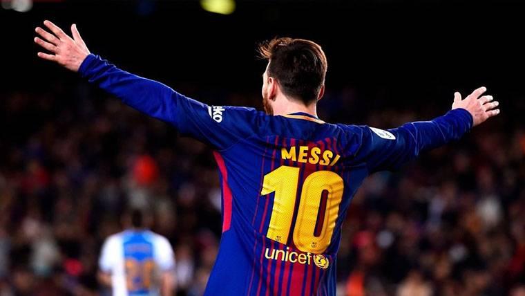 Lionel Messi se convierte en el futbolista más fiel de LaLiga