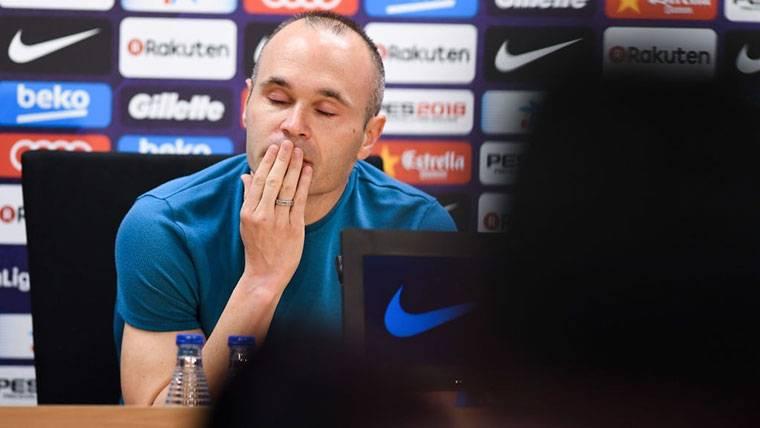 Iniesta revela la depresión que sufrió estando en el Barcelona