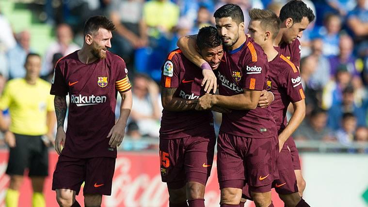 Paulinho confiesa por qué Leo Messi y Luis Suárez son sus dos mejores apoyos