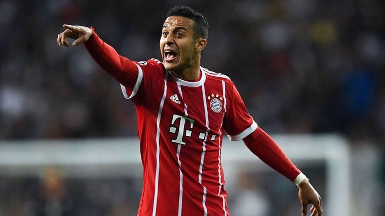 ¡Thiago Alcántara puede dejar el Bayern y regresar al Barça!