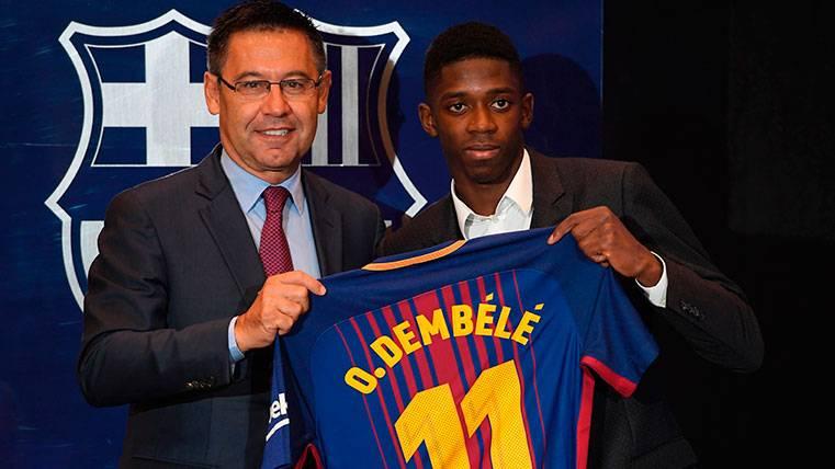 """Bartomeu: """"Ousmane Dembélé no se va a ninguna parte, es muy importante"""""""