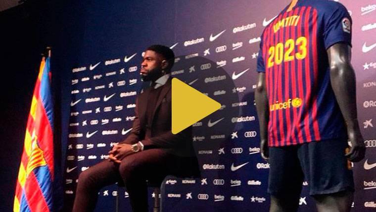"Umtiti: ""Si Griezmann quiere venir al Barça, será fantástico"""