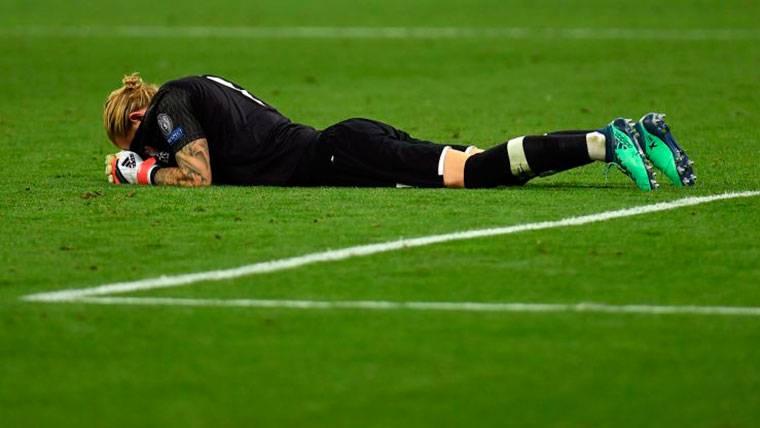Un codazo de Ramos provocó una conmoción cerebral a Karius que influyó en su rendimiento