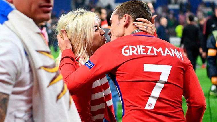"""Antoine Griezmann: """"If they touch to my family, can put me virulento"""""""