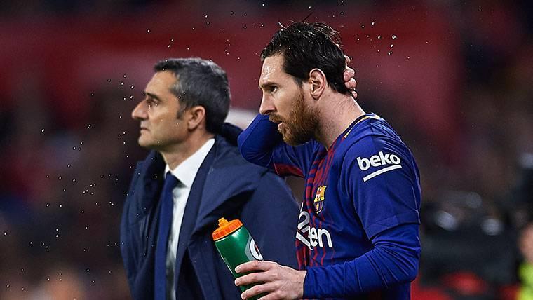 Aseguran que Leo Messi avisó a Valverde de la 'fuga' de Neymar