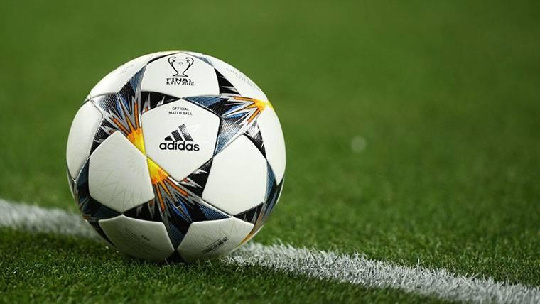 Balón utilizado durante la Champions League 2018-19