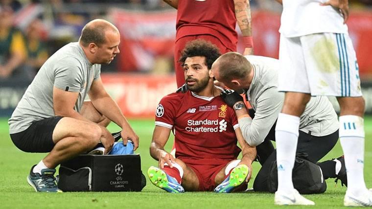 Mo Salah no se olvida de Sergio Ramos y le deja de mentiroso