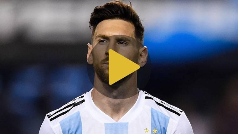 Estas son las sensaciones de Messi antes del Mundial 2018