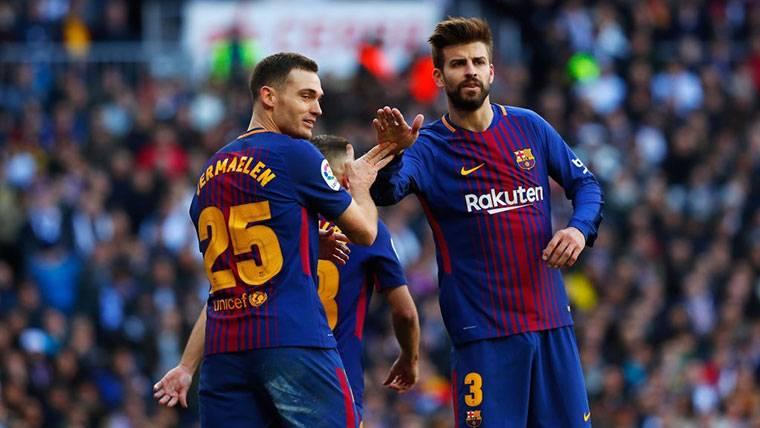 La condición del Barça para renovar el contrato de Vermaelen