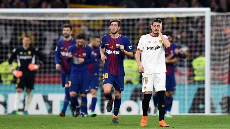 La Supercopa Barça-Sevilla, a partido único... ¿En el Camp Nou?