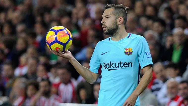Jordi Alba también se 'moja' sobre la situación de la cantera del Barça