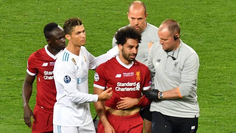 El inesperado elogio de Cristiano Ronaldo a Mohamed Salah