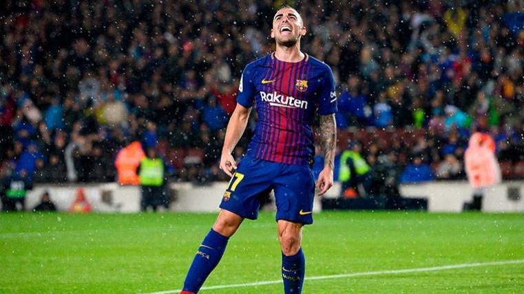Paco Alcácer podría abandonar el Camp Nou