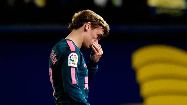 El vestuario del FC Barcelona sentencia a Antoine Griezmann