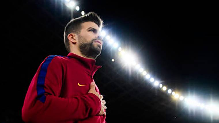 Indignación del Barça con Piqué por su actitud en el 'caso Griezmann'