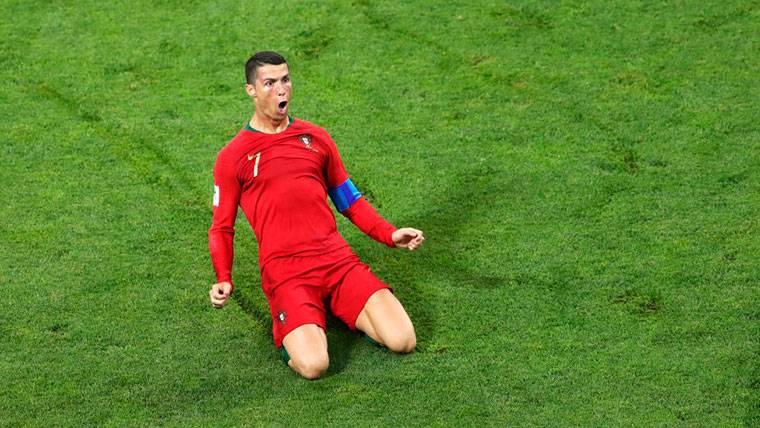 Cristiano Ronaldo se interpone entre España y su primera victoria (3-3)