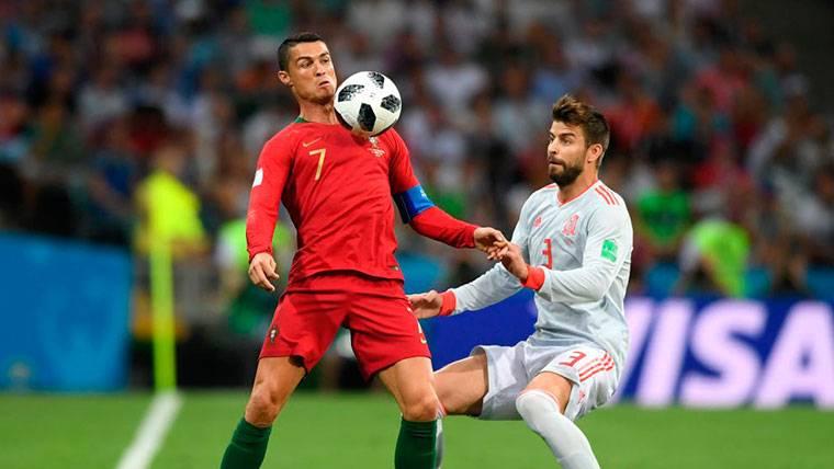 El 'dardo' de Piqué a Cristiano Ronaldo y Sergio Ramos